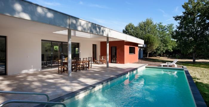 Architectes maison individuelle saint for Architecte bordeaux maison individuelle