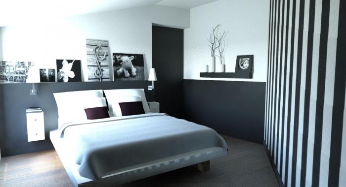 aménagement d'un petit appartement sous combles