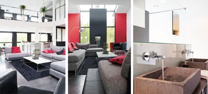 architectes cap ferret maison contemporaine. Black Bedroom Furniture Sets. Home Design Ideas