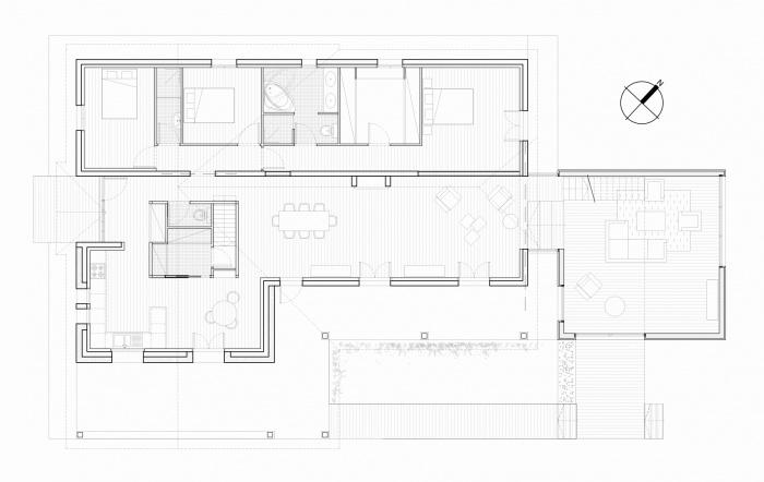 Maison-Belvédère : Plan