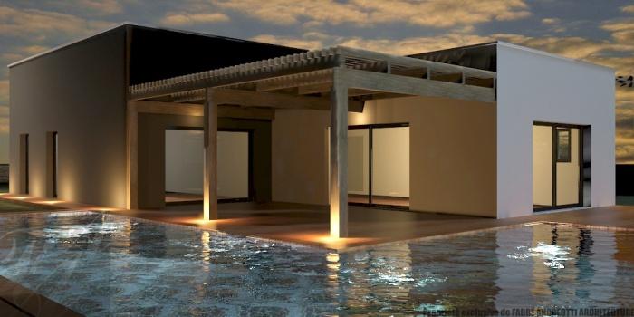 architectes maison contemporaine ollioules. Black Bedroom Furniture Sets. Home Design Ideas