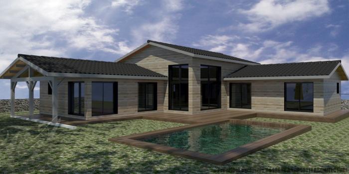 architectes bordeaux maison 224 ossature bois biscarrosse