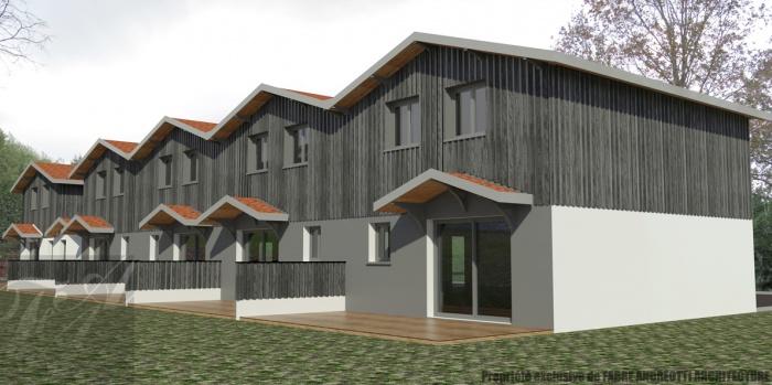 5 maisons individuelles groupées