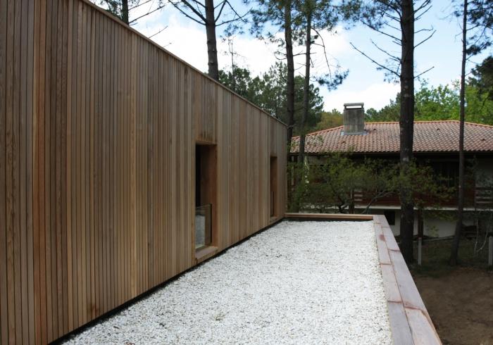 architectes maison bois biscarrosse. Black Bedroom Furniture Sets. Home Design Ideas