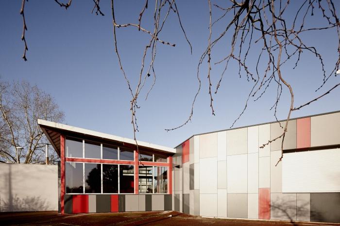 Requalification des façades de la Maison Municipale de Saige-Formanoir - VILLE de PESSAC : 07