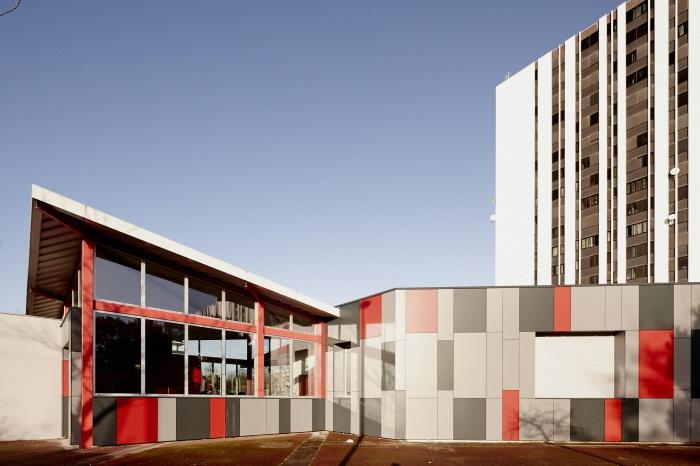 Requalification des façades de la Maison Municipale de Saige-Formanoir - VILLE de PESSAC : 08