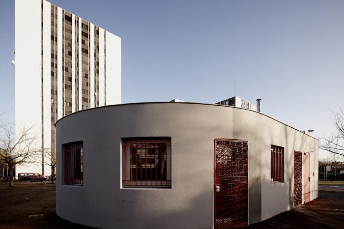 Requalification des façades de la Maison Municipale de Saige-Formanoir - VILLE de PESSAC : 09
