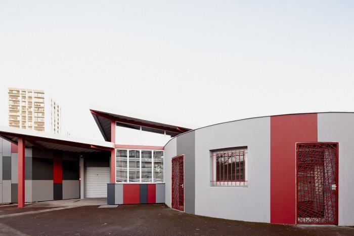 Requalification des façades de la Maison Municipale de Saige-Formanoir - VILLE de PESSAC : 10