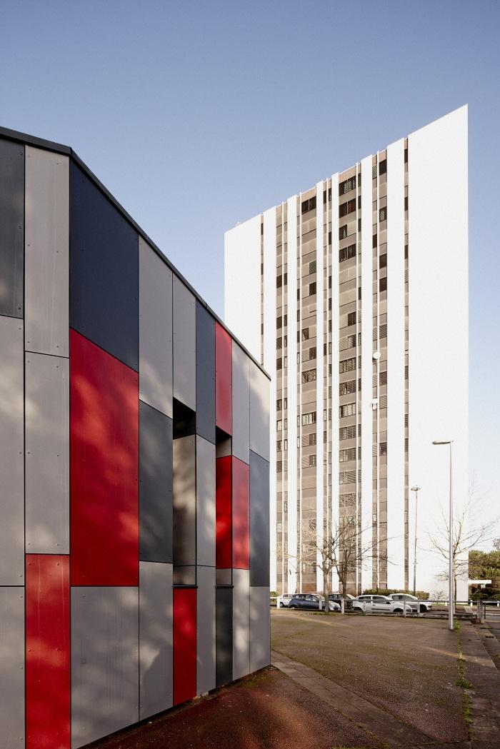 Requalification des façades de la Maison Municipale de Saige-Formanoir - VILLE de PESSAC : 17