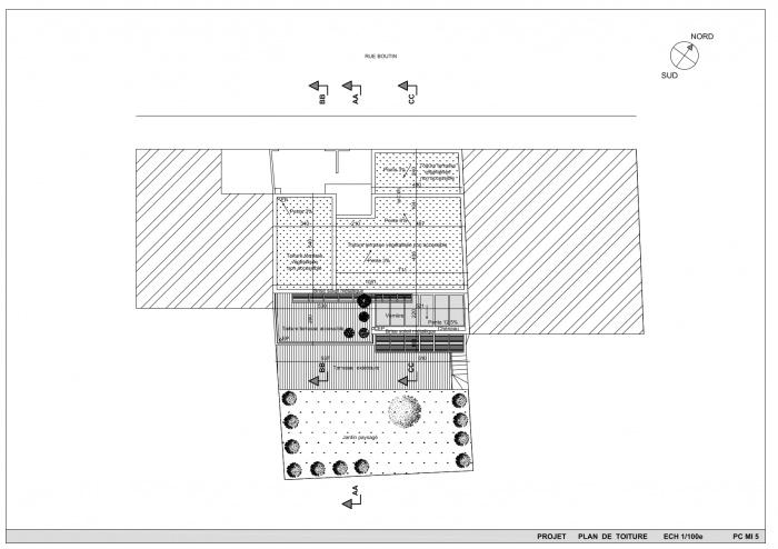 Maison P 33 : PLAN DE TOITURE.jpeg