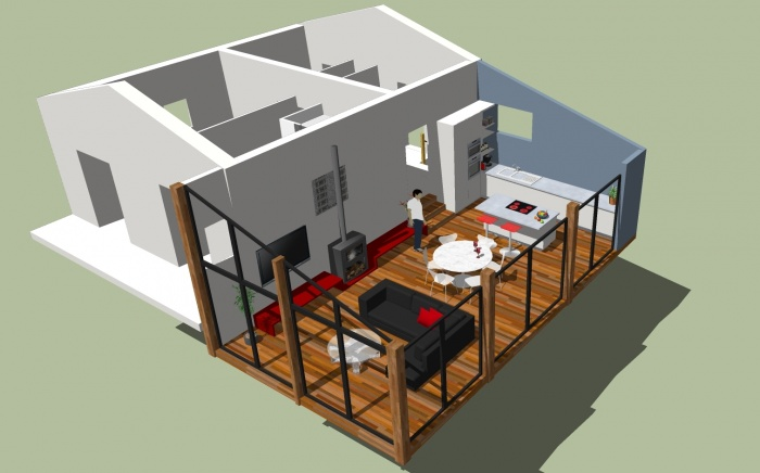 Extension Chalet