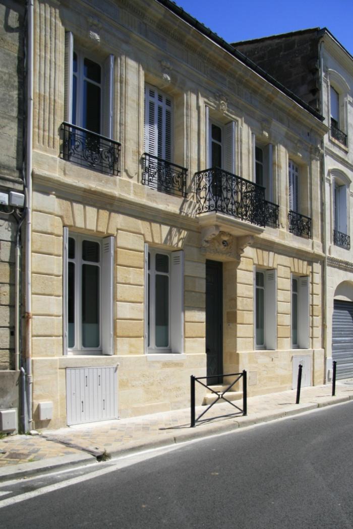 R habilitation d 39 une maison de ville cr ation d 39 un couloir de nage bordeaux une - Maison de ville bordeaux ...