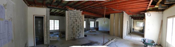 Réhabilitation d'une maison : phase travaux