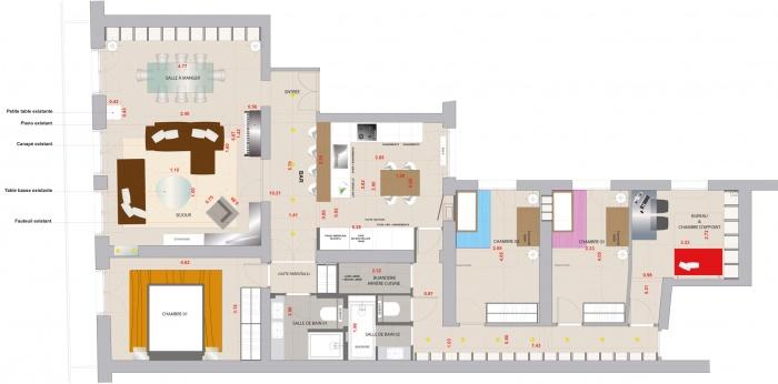Réhabilitation d'un appartement : 2.1