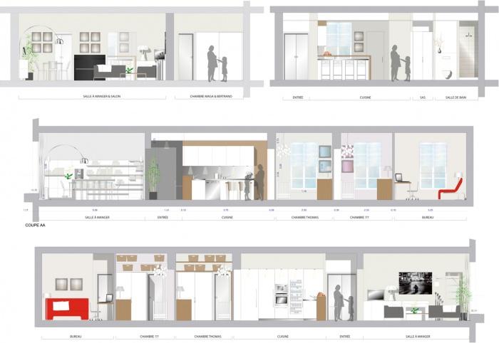 Réhabilitation d'un appartement : 3.2
