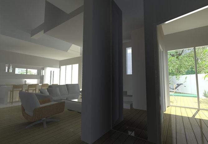 maison george sand bordeaux une r alisation de fr d ric etcheberry architecte dplg. Black Bedroom Furniture Sets. Home Design Ideas