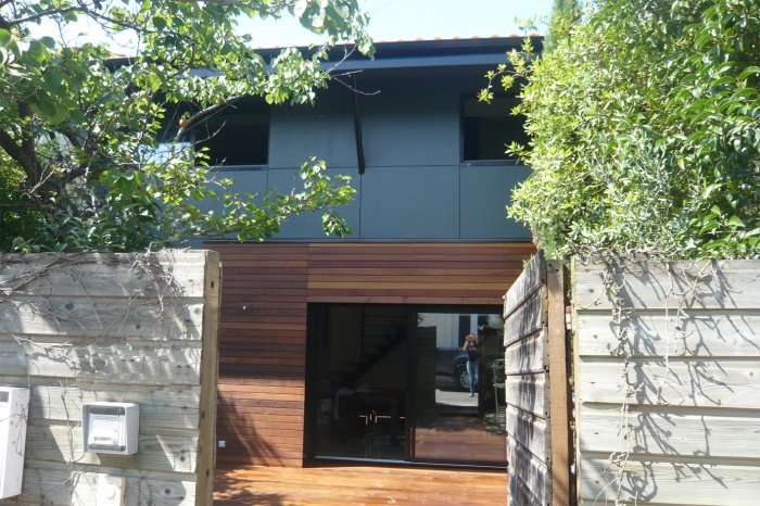 Projet maison contemporaine
