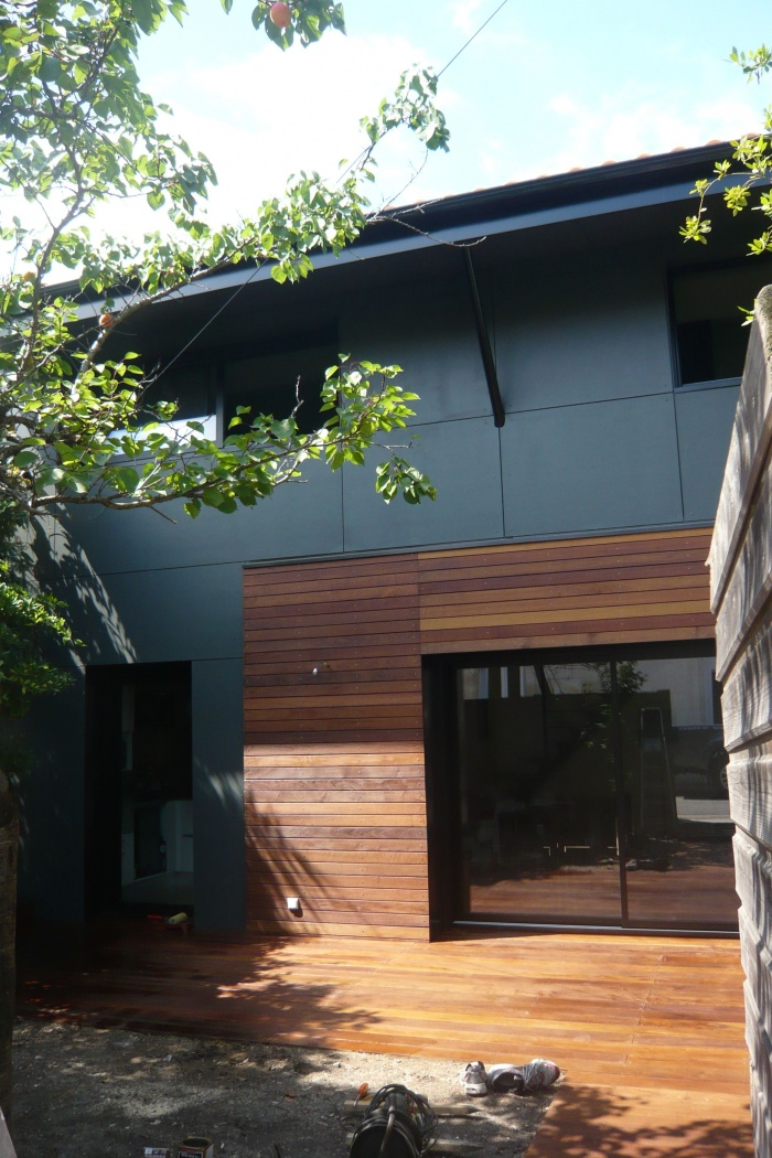 Projet maison contemporaine bouscat le une for Projet maison contemporaine