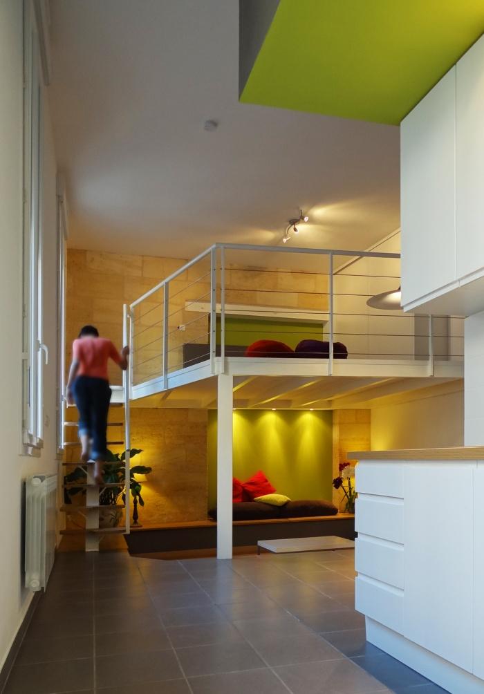 Rénovation studio en rdc