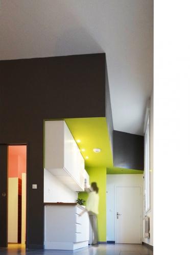 Rénovation studio en rdc : Photo 4