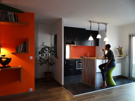 Architectes ouverture cuisine sur s jour for Ouverture salon cuisine