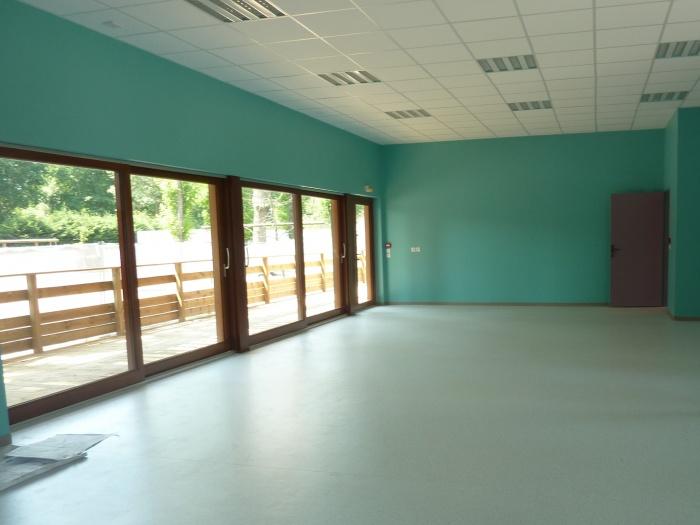 Extension d'une Ecole : Salle de motricité