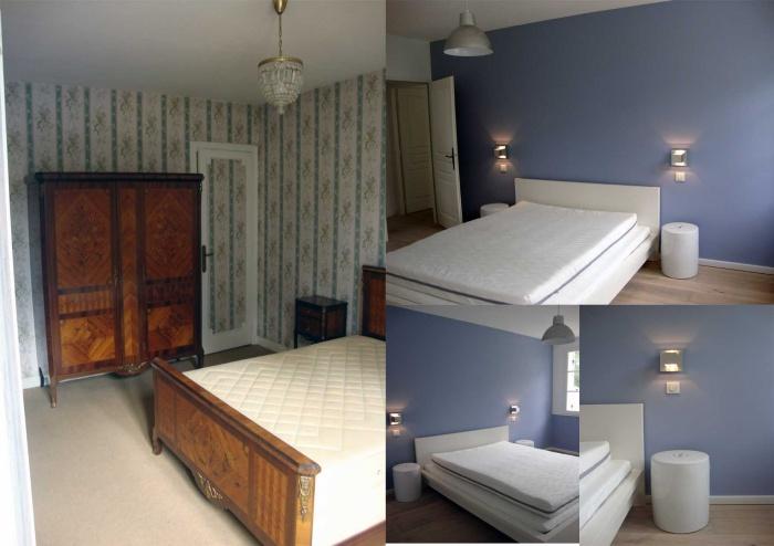 Rénovation compléte d'une maison : chambre 2