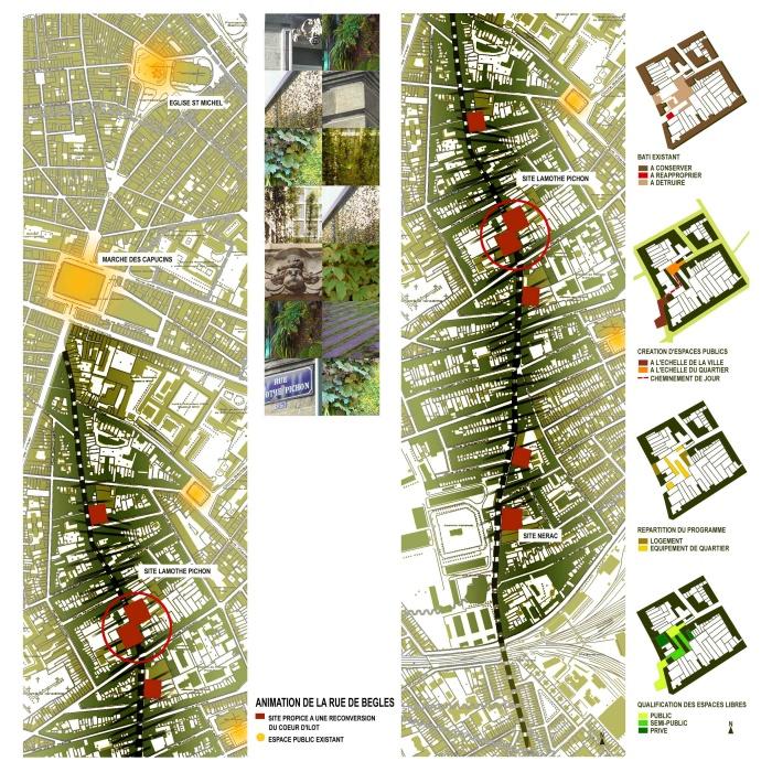 Coeur d'îlot - aménagement urbain : 401_SCHEMAS_1