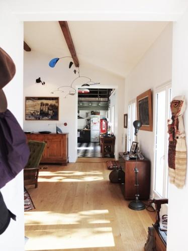 Réhabilitation de deux maisons jumelles : 2. entrée