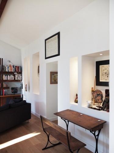 Réhabilitation de deux maisons jumelles : 5. niche