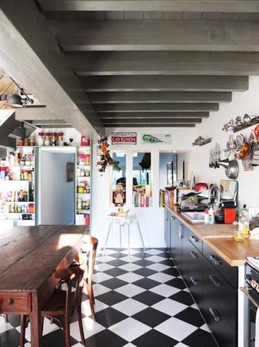 Réhabilitation de deux maisons jumelles : 10. niche cuisine