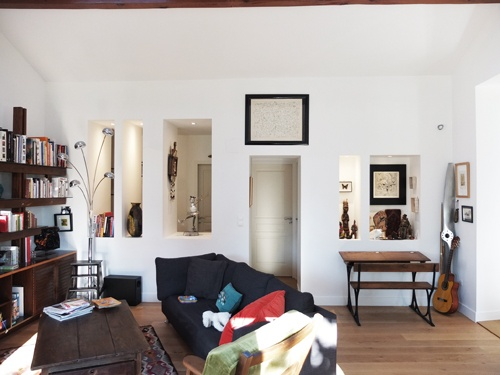 Réhabilitation de deux maisons jumelles : 5. niche face