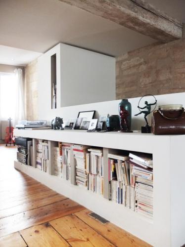 Réhabilitation d'une maison de ville : 1. meuble droit