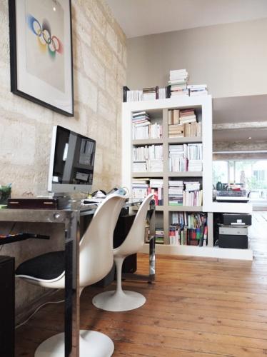 Réhabilitation d'une maison de ville : 2. meuble droit
