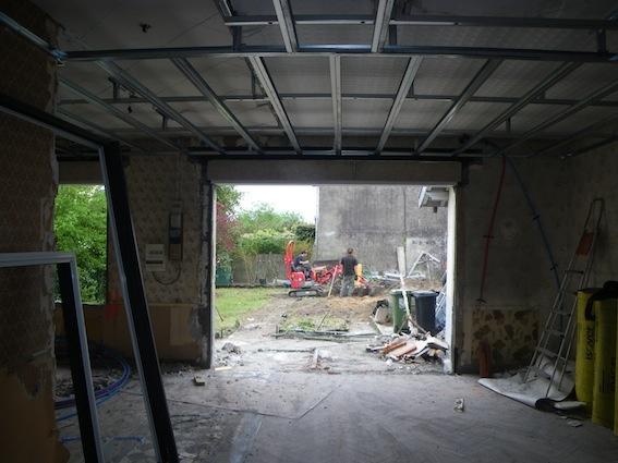 Rénovation échoppe W : Début du chantier