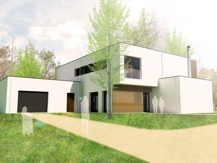 Maison S : Insertion ouest du projet