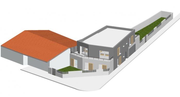 Construction d 39 une maison individuelle b gles une for Projet construction maison individuelle