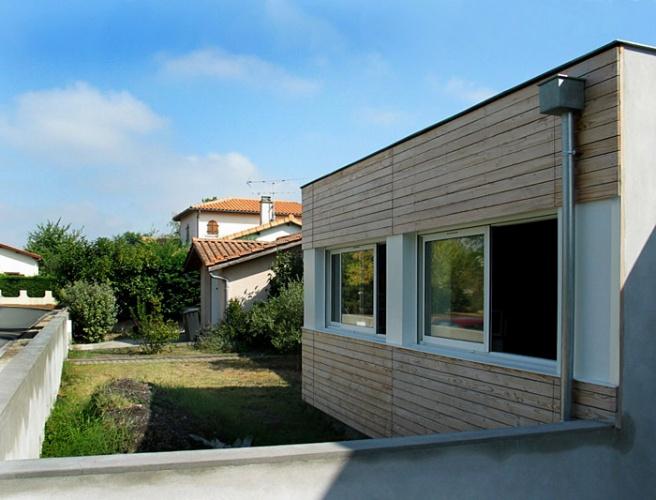 Extension d'une maison pavillonnaire