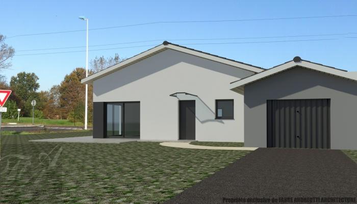 Maison individuelle T5 - 100 m²