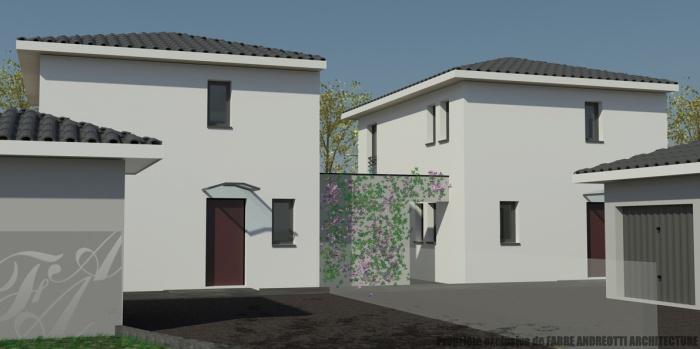 2 maisons à but locatif - St Médard en Jalles (33)
