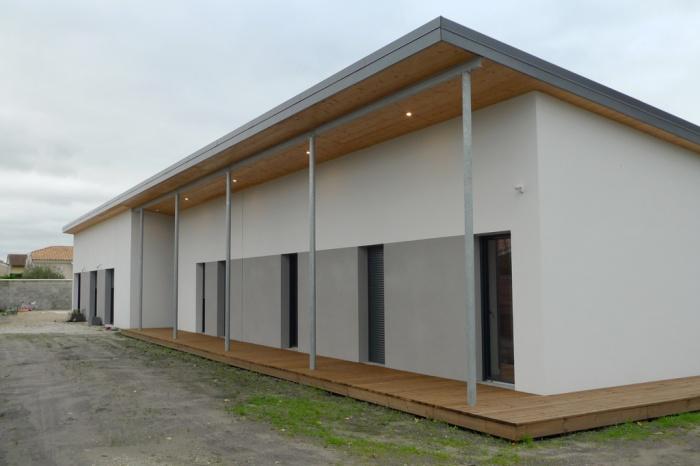 Construction d'une maison contemporaine à Mérignac