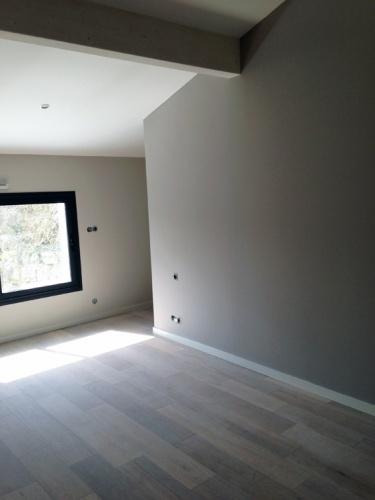 Construction d'une maison d'habitation : chambre 1