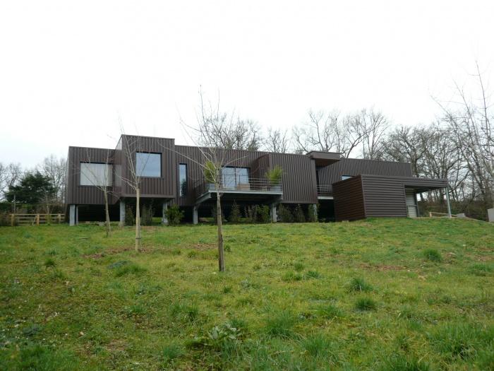 Maison R : côté jardin