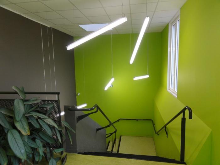 Ecole primaire Henri IV : escalier 1