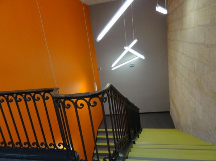 Ecole primaire Henri IV : escalier 2
