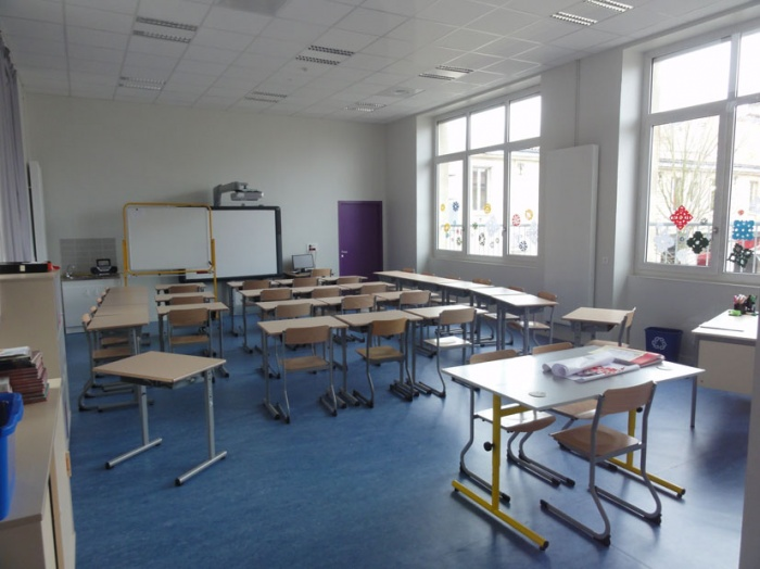 Ecole primaire Henri IV : salle de classe