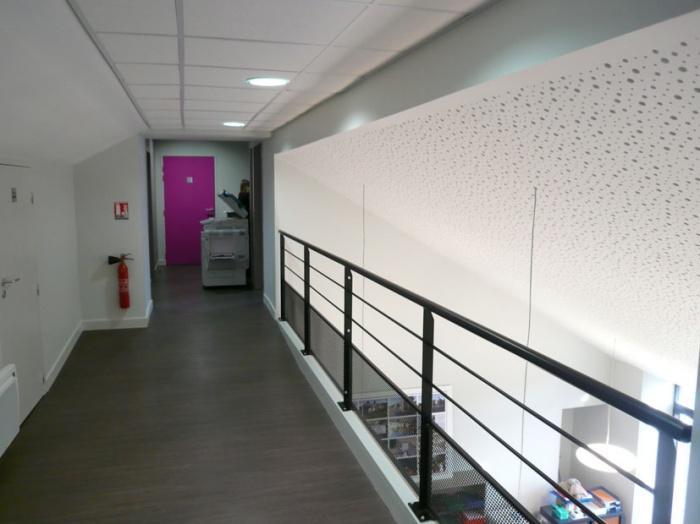 Rénovation & extension de la Mairie de Sadirac : sad passerelle 2