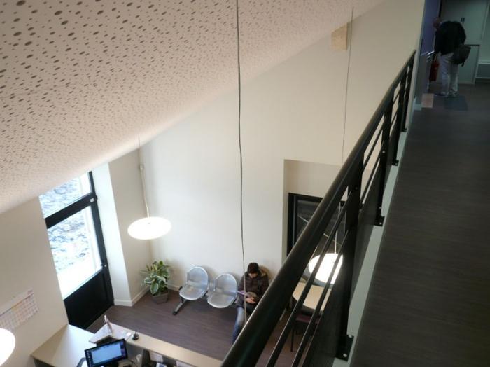 Rénovation & extension de la Mairie de Sadirac : sad passerelle