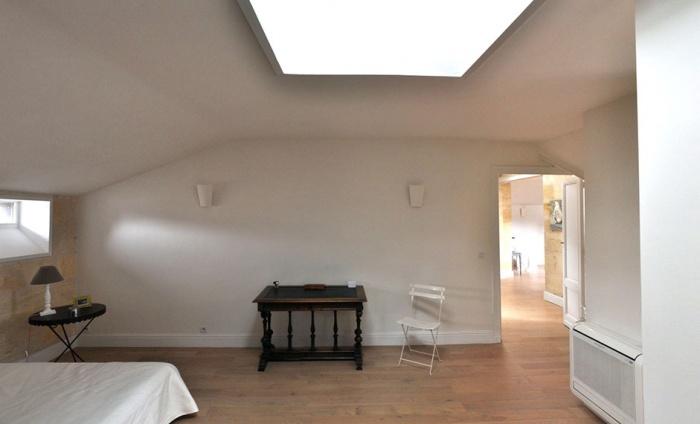 Sous les toits de Bordeaux : chambre