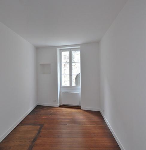 un premier étage aux Chartrons : Chambre2